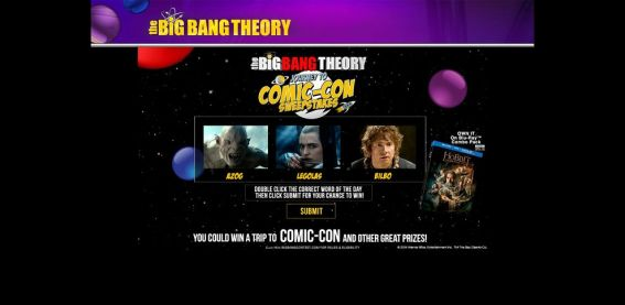 bigbangcontest.com – The Big Bang Ultimate Fan Giveaway Sweepstakes