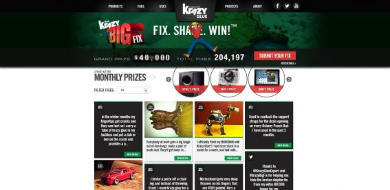 Krazy Big Fix Sweepstakes