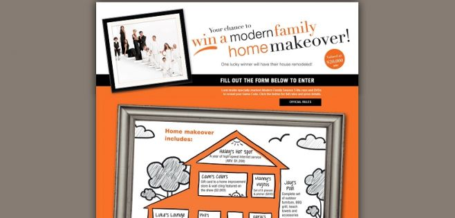 modernfamilysweeps.com – Modern Family Home Makeover Instant Win Game