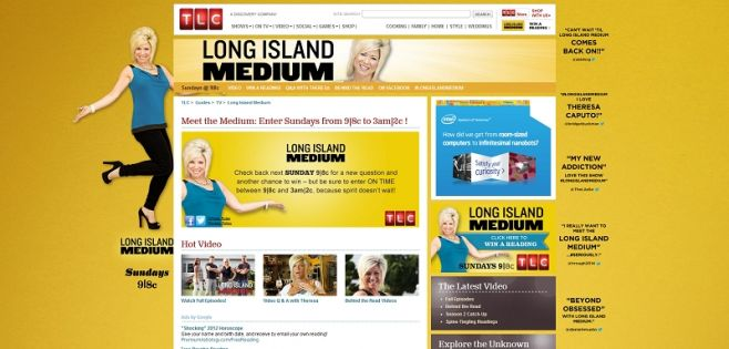 tlc.com/winareading – TLC's Meet the Medium Sweepstakes