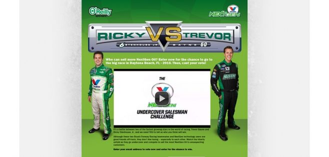 Ricky vs. Trevor Sweepstakes