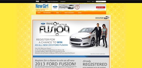 fox.com/ford – Go Further With Fox Sweepstakes