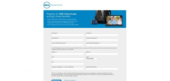 Dell Advantage/Computer Giveaway