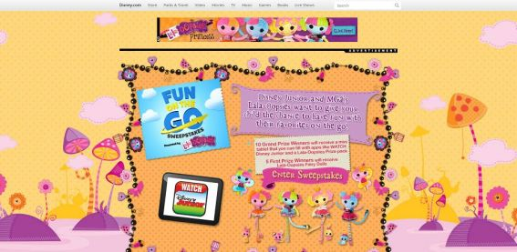 DisneyJunior.com/FunOnTheGo – Disney Junior Fun On The Go Sweepstakes