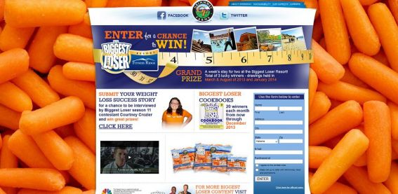 justcrunchem.com – Grimmway Farms and The Biggest Loser Just Crunch Em! Sweepstakes