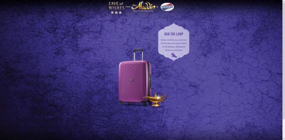 American Tourister Cave of Wishes Sweepstakes – caveofwishes.com : Make a wish & you could win !