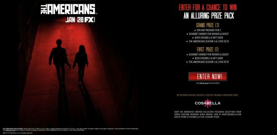 The Americans Undercover Sweepstakes Presented By FX Networks