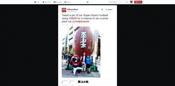 Super-Sized Football Photo Sweepstakes: Snap. Share. Win.