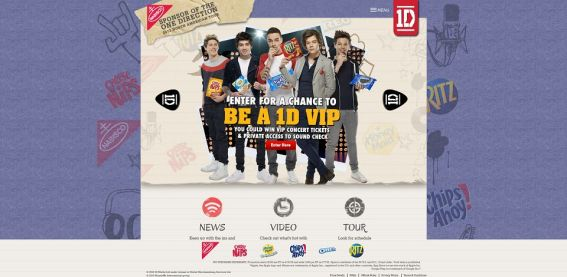 1dvip.com – One Direction Summer Sweepstakes