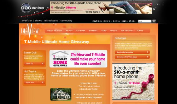 T-Mobile Ultimate Home Giveaway