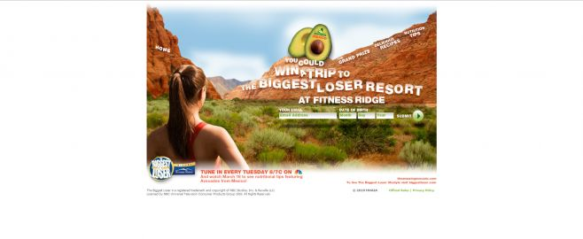MHAIA The Biggest Loser Resort Vacation Getaway Sweepstakes