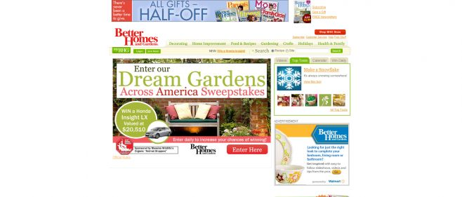 Dream Gardens Across America Sweepstakes