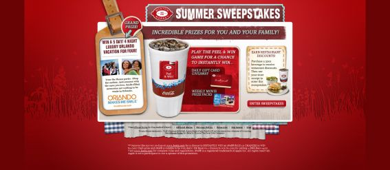 Boston Market Summer Sweepstakes