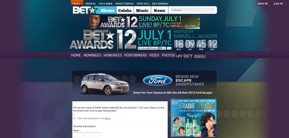 bet.com/BrandNewEscape – Brand New Escape Sweepstakes