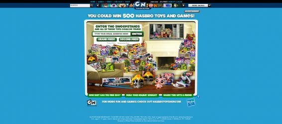 Hasbro Holiday Toy Sweepstakes