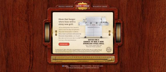 Wisconsin Cheeseburger Grill Giveaway Sweepstakes