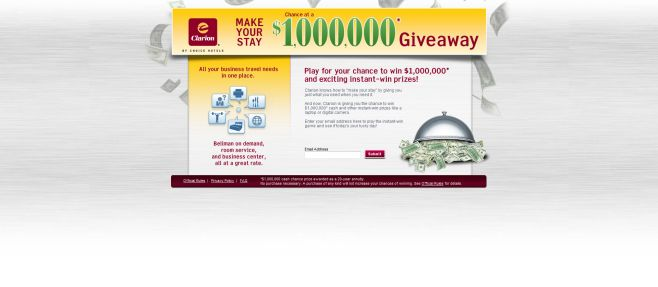Make Your Stay Chance at a Million Dollars Giveaway