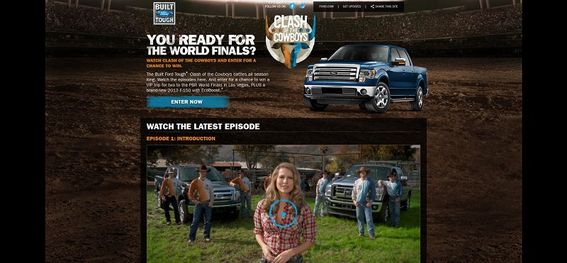 clashofthecowboys.com – 2013 Built Ford Tough Clash of the Cowboys Sweepstakes