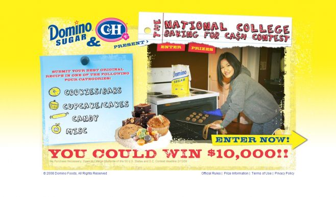 Baking For Cash Contest