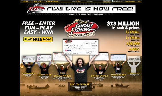The FLW Outdoors Fantasy Fishing Challenge