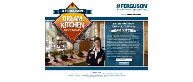 Ferguson Dream Kitchen Giveaway