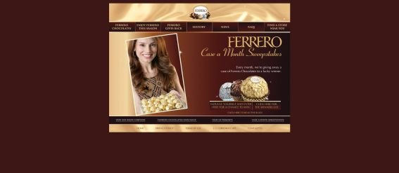 Ferrero Case a Month Sweepstakes