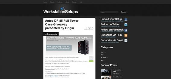 Antec DF-85 Full Tower Case Giveaway