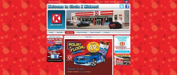 polarpop.com – Circle K Polar Pop Pour It & Floor It! Camaro Sweepstakes