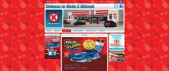 polarpop.com – Circle K Polar Pop Pour It & Floor It! Camaro Sweepstakes