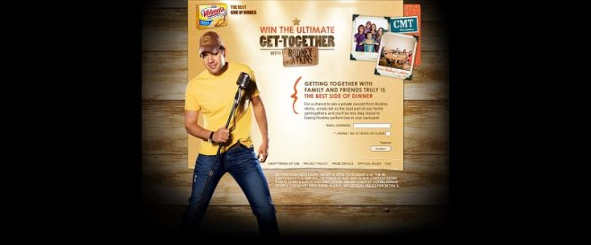GetTogetherWithRodney.com – Ultimate Get Together With Rodney Atkins Contest