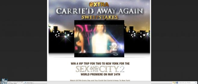 Carrie'd Away Again Sweepstakes