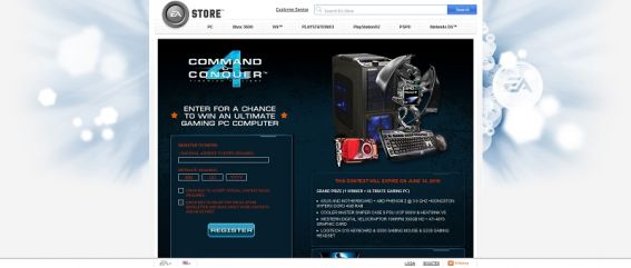 Command &#038; Conquer 4 Ultimate PC Sweepstakes