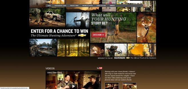 chevyoutdoors.com – Chevy Ultimate Outdoor Adventure Sweepstakes
