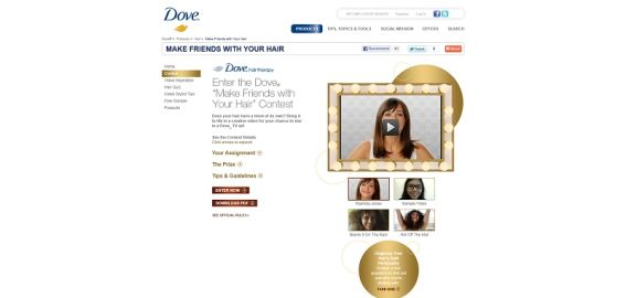 Dove Make Friends with Your Hair Contest