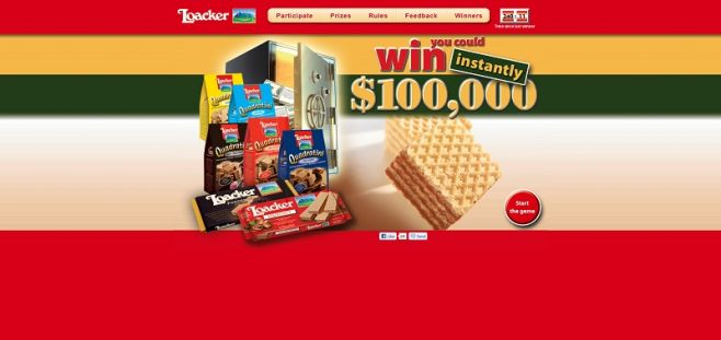 winwithloacker.com – Loacker Win Every Hour Sweepstakes