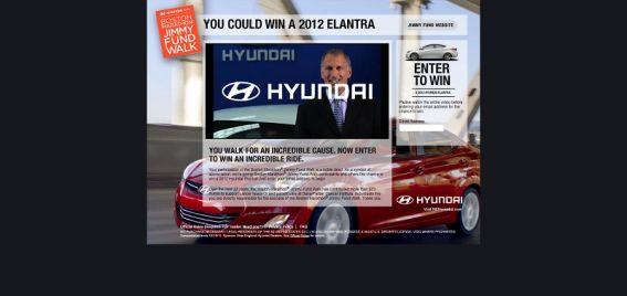 hyundaijimmyfundwalk.com – Hyundai Elantra Sweepstakes