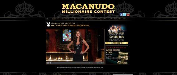 macanudomillionaire.com – Macanudo Millionaire Contest