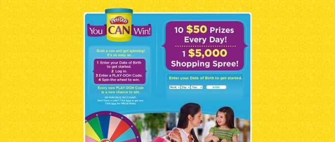 readygoplaydoh.com – Play-Doh You.Can.Win.
