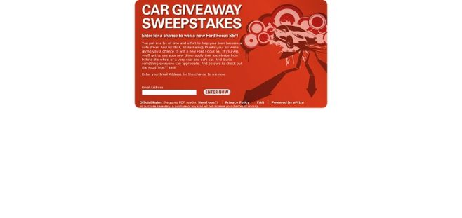 State Farm Car Giveaway Sweepstakes