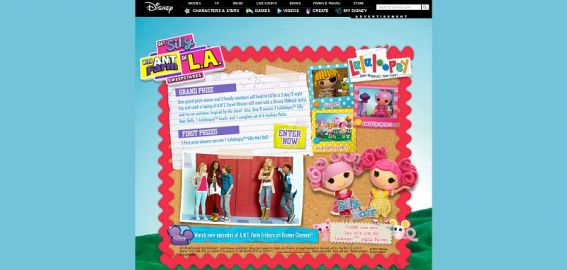 Disney.com/GetSilly – Get Silly with AN.T. Farm in LA Sweepstakes