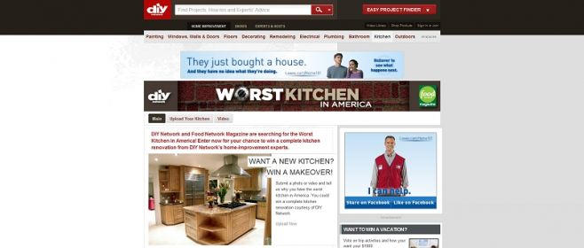 DIY's Worst Kitchen in America Contest