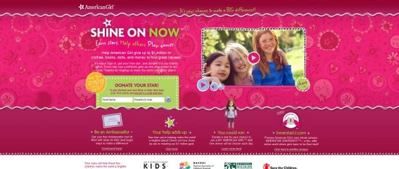 shineonnow.com &#8211; Shine On Now My American Girl Doll Giveaway