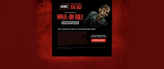 AMC's The Walking Dead Sweepstakes