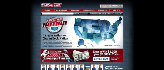 channellocksweepstakes.com – Channellock Nation Sweepstakes