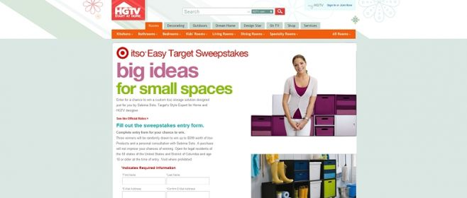itso? Easy Target Sweepstakes