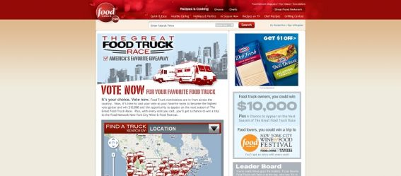 America's Favorite Food Truck Giveaway