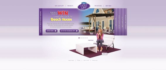 DANNON Light & Fit Beach House Sweepstakes