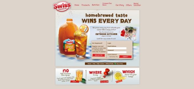 swiss-tea.com/everyday – Swiss Tea Homebrewed Taste Wins Every Day
