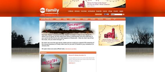 Pretty Little Secret Seekers Scavenger Hunt Contest