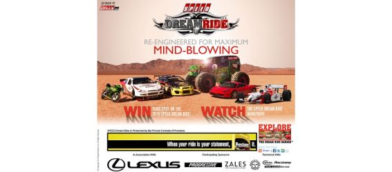 speeddreamride.com – 2010 SPEED Dream Ride Sweepstakes
